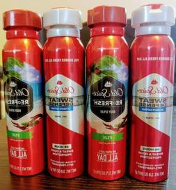2 Old Spice Captain Invisible Spray 48 Hour Antiperspirant D