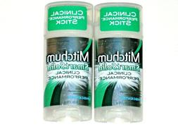 Mitchum Smart Solid Clinical Performance, Unscented, 2.5-Oun