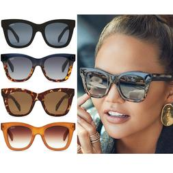QUAY x CHRISSY AFTER HOURS SUNGLASSES NAVY TORT BLACK CAT EY