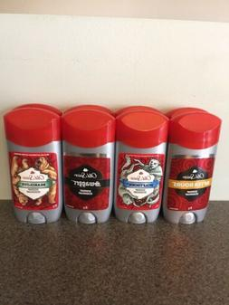 Old Spice Deodorant Lot Of 8 After Hours, Bearglove, Swagger