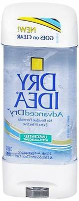 Dry Idea Clr Gel Unscnted Size 3z Dry Idea Unscented Clear G