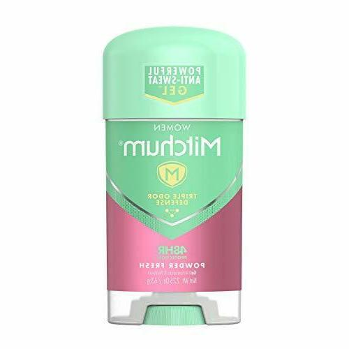 MITCHUM POWER GEL A/P PWDR FRS 2.25 OZ