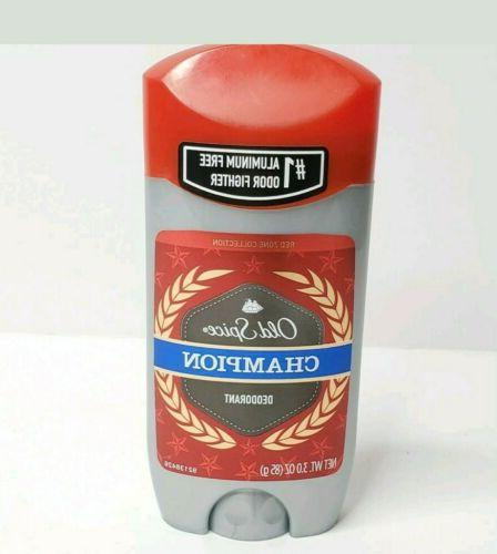 Old Spice Olympic Red Zone Champion Scent Men's Deodorant 3