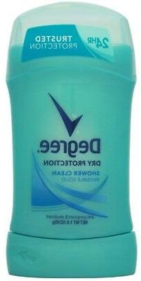 Johnson Diversey Degree Invisible Solid Deoderant Shower Gel
