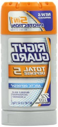Right Guard Total Defense 5 Power Stripe Anti-perspirant Deo