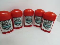 LOT OF 5 Old Spice Bolder Bearglove Scent Anti-Perspirant De