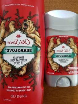 Old Spice Men's Anti-Perspirant - Bearglove Sealed - Combo B