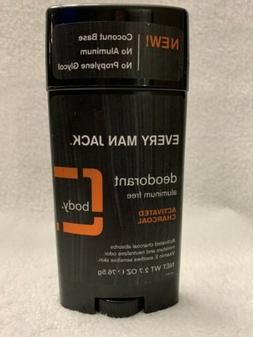 Every Man Jack Mens Deodorant Activated Charcoal